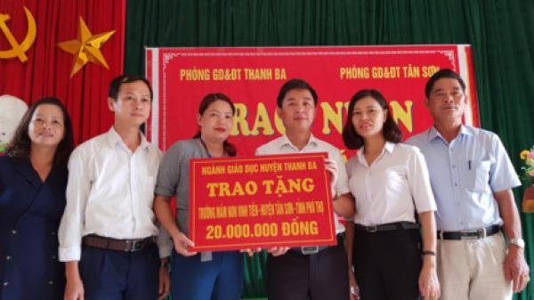 Nghĩa cử cao đẹp của ngành GD Thanh Ba (Phú Thọ)