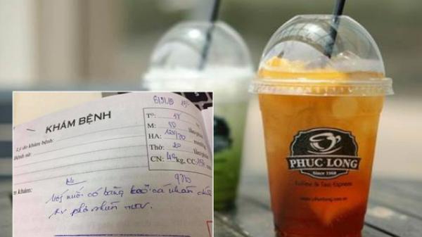 Phúc Long lên tiếng về việc khách hàng ở Sài Gòn phải uống thuốc phơi n.hiễm H.I.V sau khi phát hiện băng keo y tế trong cốc trà vải