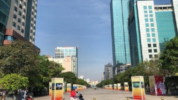 TP.HCM: Cấm lưu thông tuyến đường Nguyễn Huệ trong 3 ngày cuối tuần