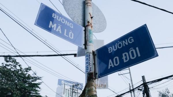 """Bảng tên """"đường Park Hang-seo"""" đã bị gỡ bỏ, nhưng ở Sài Gòn cũng có những tên đường khiến Google Maps phải toát mồ hôi"""