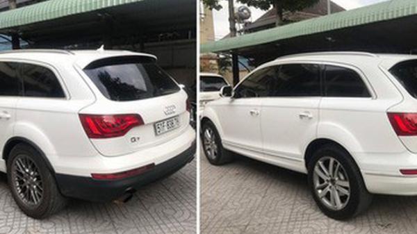 """Lái xe Sài Gòn ngỡ ngàng phát hiện chiếc Audi """"đụng hàng"""" xe mình từ biển số tới kiểu dáng, màu sơn"""
