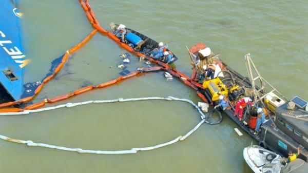 NÓNG: 3 thợ lặn đang m.ất tích tại nơi trục vớt tàu chìm ở Cần Giờ