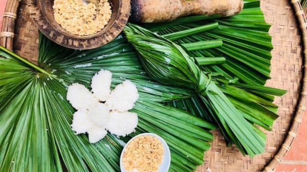 Cách làm cơm nắm lá cọ chuẩn vị người Phú Thọ