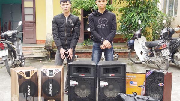 Hà Nam: Công an huyện Thanh Liêm bắt 2 đối tượng trộm cắp tài sản tại đền, chùa