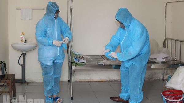 Hà Nam: 106 trường hợp nghi nhiễm SARS-CoV-2 đã có kết quả xét nghiệm