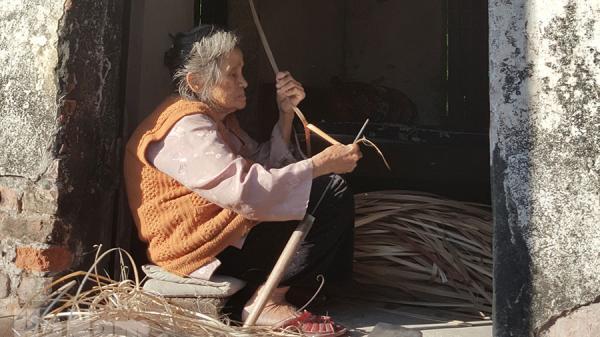 Hà Nam: Nghề đan cót ở Vũ Xá