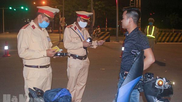 Hà Nam: Công an thành phố Phủ Lý xử lý 7 trường hợp vi phạm TTATGT