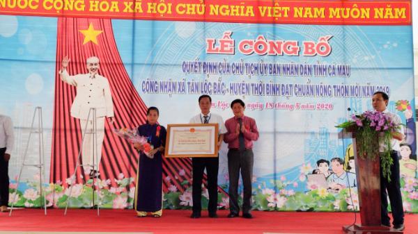 Cà Mau: 10 năm nỗ lực, xã Tân Lộc Bắc đạt chuẩn nông thôn mới