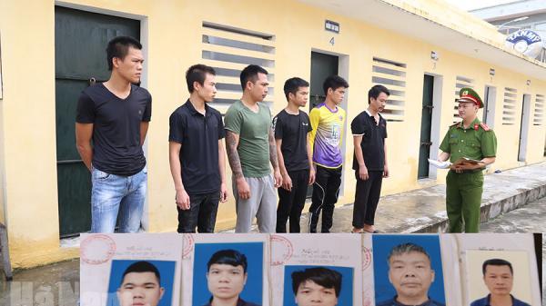 Hà Nam: Bắt nhóm đối tượng cướp tài sản tại sới bạc