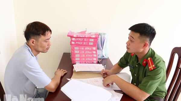 Hà Nam: Đã bắt được đối tượng Bình Lục trộm 2 xe máy khi đang lẩn trốn tại địa phương