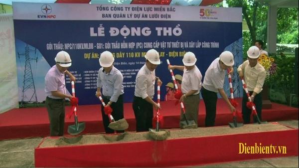 Đầu tư trên 175 tỷ đồng xây dựng đường điện 110KV Mường Lay – Điện Biên