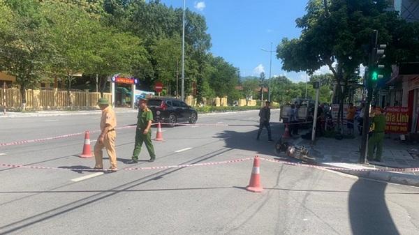 Điện Biên : Xe máy đối đầu 2 người thương vong