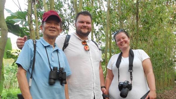 Vườn cò mới phát hiện ở Ninh Giang, Hải Dương