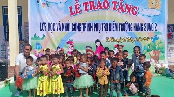 Điện Biên: Khánh thành điểm trường Háng Sung 2