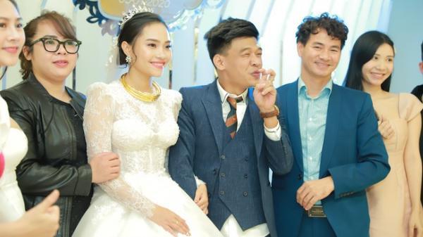 Đám cưới nam diễn viên tự nhận xấu nhất Việt Nam: Dàn sao hot nhất miền Bắc xuất hiện chóng vánh, phải vội vã rời đi