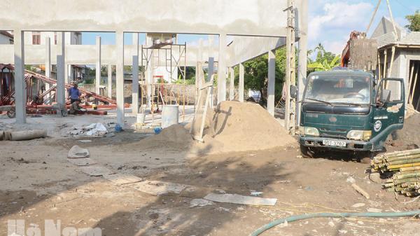 Hà Nam: Khẩn trương hoàn thiện 1 chợ ở Phủ Lý đưa vào khai thác trước Tết Nguyên đán