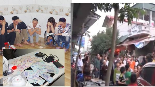 Hà Nam: Bắt 17 đối tượng đang chơi xóc đĩa ăn tiền