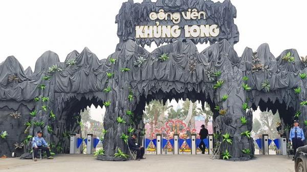 Chính thức khai trương công viên Khủng Long lớn nhất miền Bắc ngay gần Hà Nam