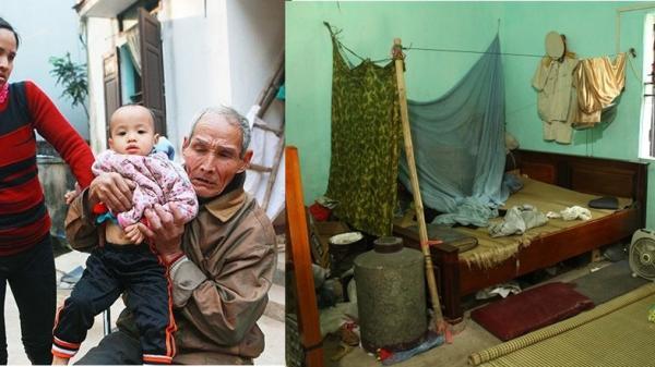 Hà Nam: 'Chuyện tình cổ tích' và cuộc sống khốn khó của cặp vợ chồng chênh nhau 43 tuổi
