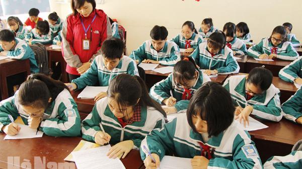 Hà Nam: Về thăm ngôi trường mang tên người vẽ lá cờ Tổ quốc