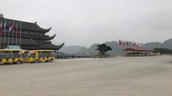 Hà Nam: Chùa Tam Chúc vắng vẻ bởi dịch COVID-19