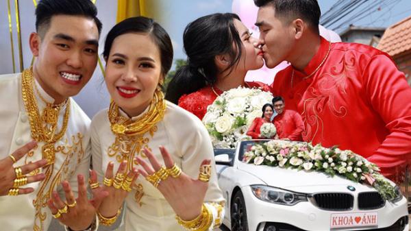 """Gia thế nhà chú rể """"không phải dạng vừa đâu"""" trong đám cưới 2,5 tỷ hồi môn và 49 cây vàng đang gây sốt MXH"""