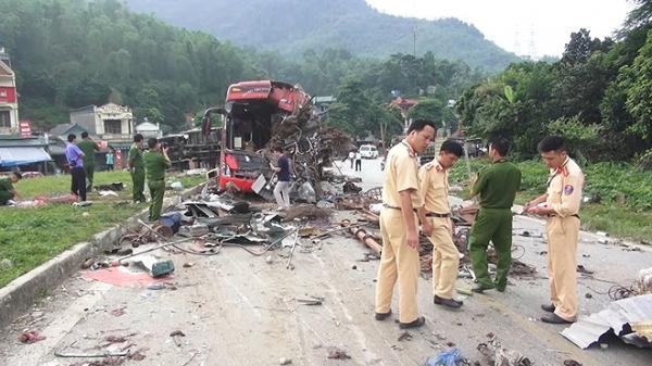 Công an tỉnh Điện Biên vào cuộc điều tra vụ xe khách cắt số khung, mài số máy