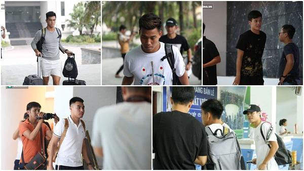 Cận mặt 5 cầu thủ Hải Dương trong ngày hội quân ở đội tuyển Việt Nam