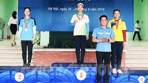 Giải vô địch bắn cung các đội mạnh quốc gia 2019: 2 cung thủ Hải Dương giành 5 huy chương