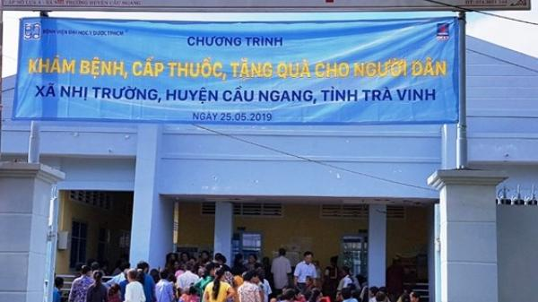 Bệnh viện Đại học Y dược TPHCM khám bệnh miễn phí cho người nghèo Trà Vinh