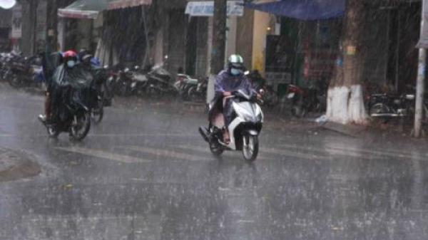CẢNH BÁO: Trà Vinh sắp có mưa dông, sấm sét