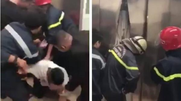 21 người mắc kẹt trong thang máy chung cư ở Sài Gòn, nhiều phụ nữ hoảng loạn kêu cứu