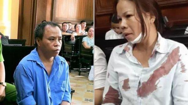 TPHCM: Vợ bị đánh n.gất x ỉu tại phiên tòa xử chồng tội g.iết n.gười