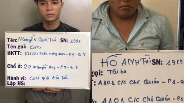 Bắt băng c ướp gây nhiều kinh hoàng cho người dân trung tâm Sài Gòn