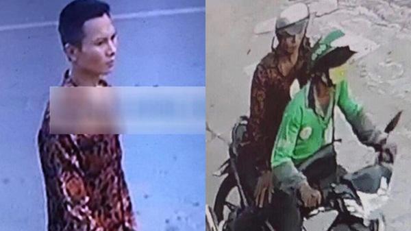 TP.HCM: Cận cảnh hình ảnh nghi phạm c ứa c ổ tài xế GrabBike, cư ớp tài sản