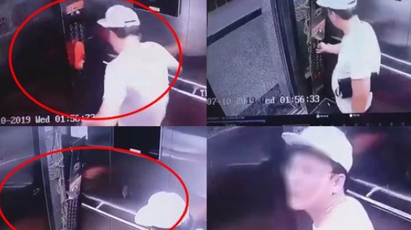 """Nam thanh niên Hàn Quốc vô cớ """"tung cước"""" đạp hỏng bảng điều khiển thang máy ở Sài Gòn chính thức lên tiếng"""