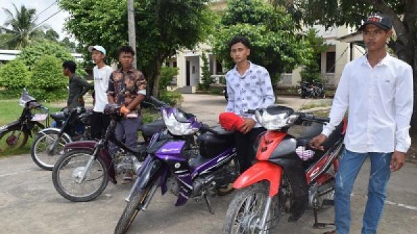 Trà Vinh: Triệu tập, phạt hành chính nhóm thanh, thiếu niên tụ tập chạy xe tốc độ cao, lạn g lách, nẹt pô