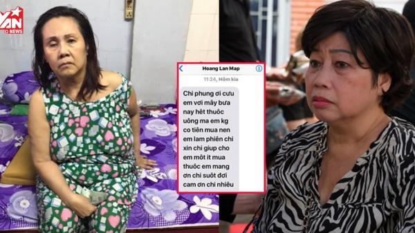 Nghệ sĩ quê Trà Vinh Phi Phụng quyên tiền mua th uốc giúp nghệ sĩ Hoàng Lan
