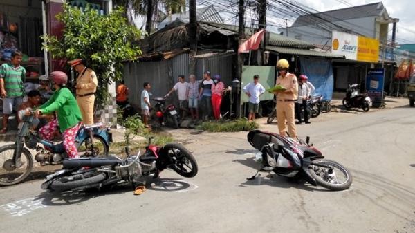 Trà Vinh: Tai nạn n ghiêm trọng 2 người nhập viện