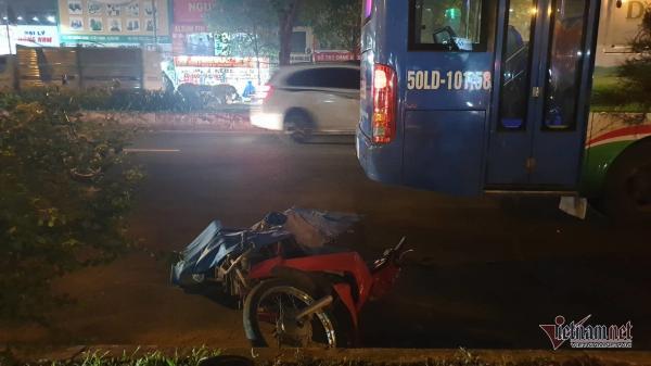 Thanh niên quê Trà Vinh bị xe buýt c án ch ết trong làn ô tô