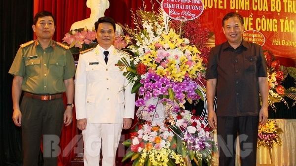 Đại tá Lê Ngọc Châu giữ chức Giám đốc Công an tỉnh Hải Dương