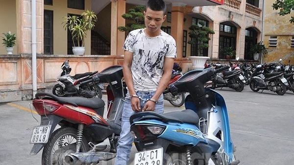 Cảnh sát giao thông bắt đối tượng trộm cắp tài sản vừa ra tù 1 tháng
