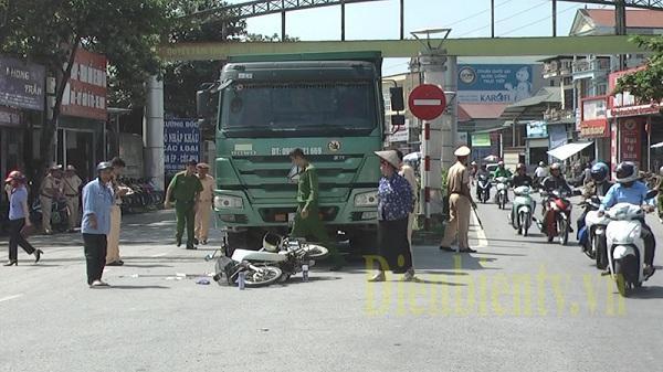 Điện Biên: Va chạm với xe tải, một người phụ nữ tử vong thương tâm