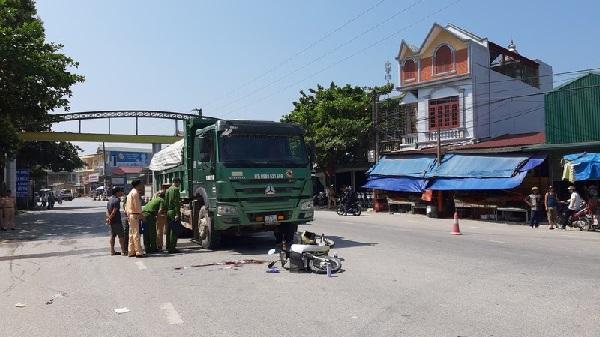 Điện Biên: Xe Ben cán qua người phụ nữ rồi lùi lại khiến nạn nhân tử vong
