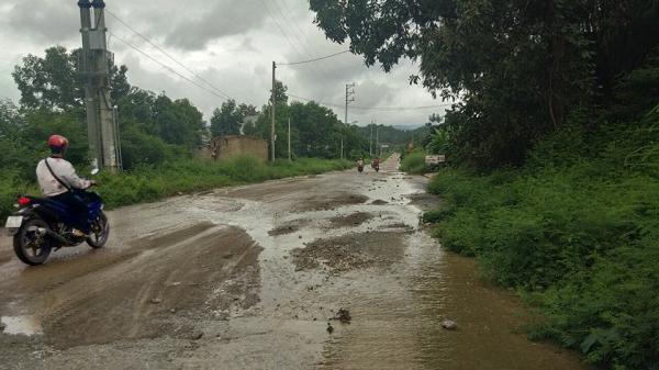 Điện Biên: Tuyến đường hơn 140 tỷ đồng luôn xuống cấp nghiêm trọng