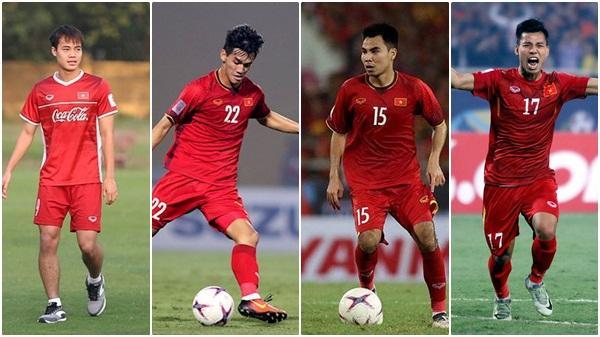 HLV Park Hang-seo gạch tên 2 hậu vệ, chốt danh sách 23 cầu thủ đấu Malaysia, 4 cầu thủ Hải Dương góp mặt