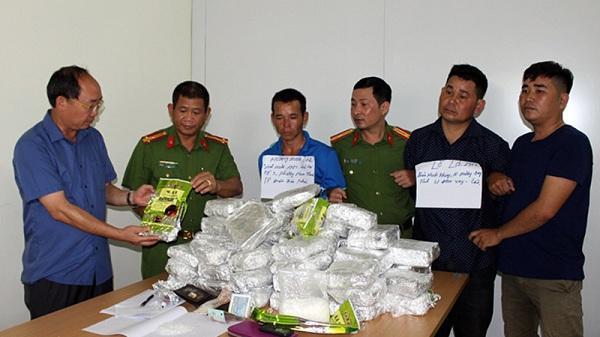 Điện Biên bắt giữ 512 vụ, 596 đối tượng phạm tội về ma túy