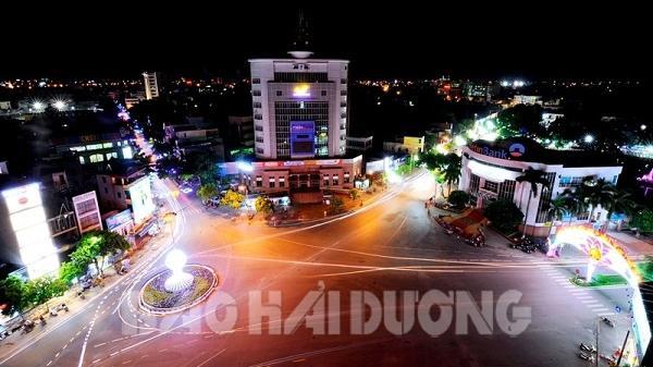 Lung linh đêm thành phố Hải Dương