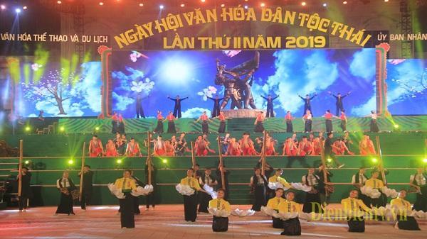Hình ảnh đẹp đêm tổng duyệt chương trình Ngày hội Văn hóa dân tộc Thái lần thứ II