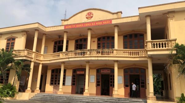 Ninh Bình: Cảnh cáo, cho nghỉ việc đối với Chủ tịch UBND xã Ninh Nhất